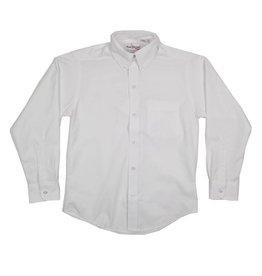 Elder Manufacturing Co. Inc. BOYS/MENS LS WHITE OXFORD SHIRT 2