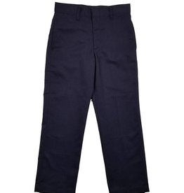 Elder Manufacturing Co. Inc. BOY/MENS FLAT FRONT PANTS NAVY 4