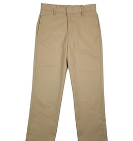 Elder Manufacturing Co. Inc. BOY/MENS FLAT FRONT PANTS KHAKI 3