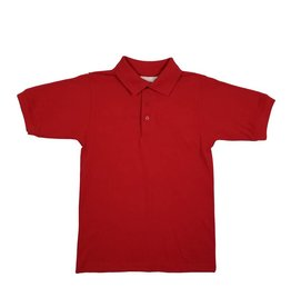 Elder Manufacturing Co. Inc. SHORT SLEEVE JERSEY KNIT SHIRT RED C
