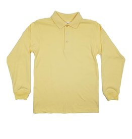 Elder Manufacturing Co. Inc. LONG SLEEVE  JERSEY KNIT SHIRT YELLOW C