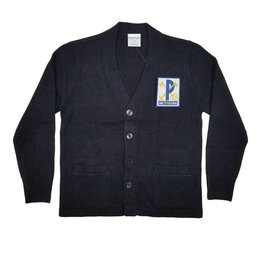 Elder Manufacturing Co. Inc. ST PETER V-NECK CARDIGAN W/ POCKET NAVY
