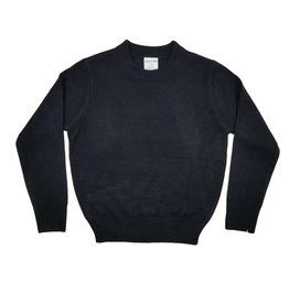 School Apparel, Inc. CREW NECK PULLOVER SWEATER NAVY D