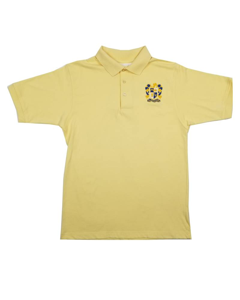 School Apparel, Inc. LEHMAN CATHOLIC SHORT SLEEVE POLO