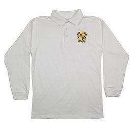 School Apparel, Inc. LEHMAN CATHOLIC LONG SLEEVE POLO