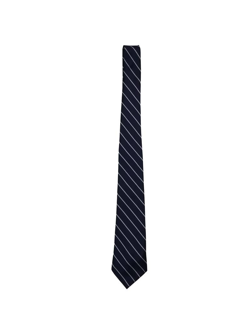 """A Finishing Touch 48"""" OPEN TIE - PREP LENGTH NAVY/WHITE 48"""