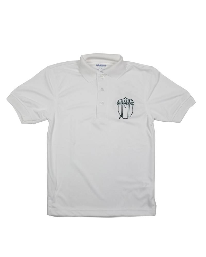 Elder Manufacturing Co. Inc. ST. MICHAEL DRY FIT SHORT SLEEVE POLO
