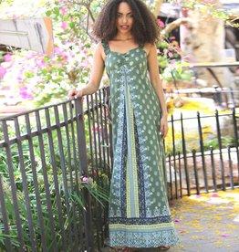 Clearance Angie Ruffle Strap Maxi Dress (B4Z69)