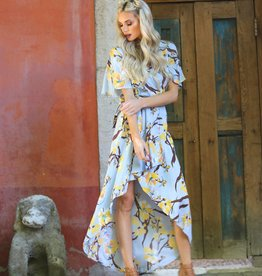 Clearance Angie Wrap Dress (F4899)