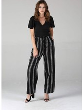 Angie Twill Striped Pants (25Q30)