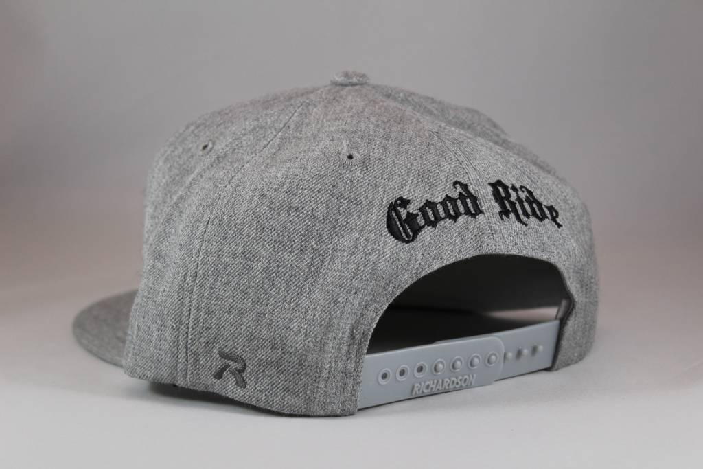 Gray GR Flatbill Snapback- Hat