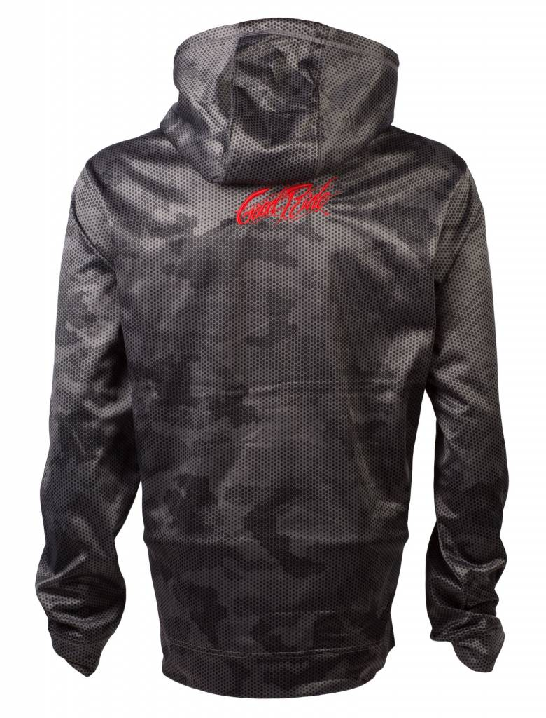 Black and Gray Camo Men's Sweatshirt
