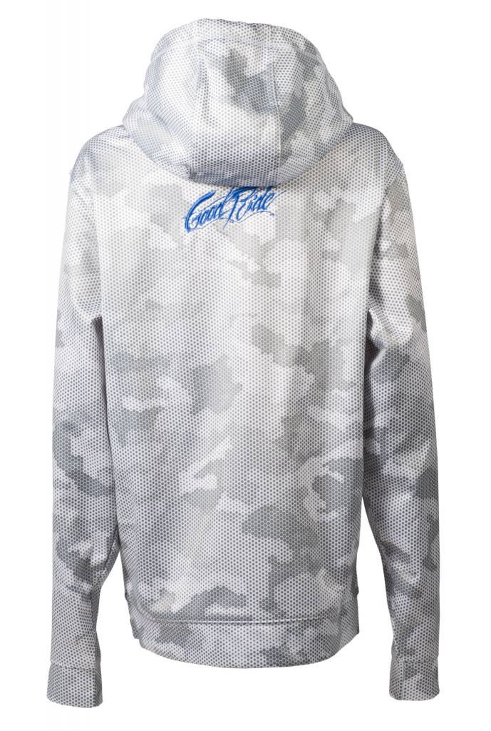 White and Gray Camo Men's Sweatshirt
