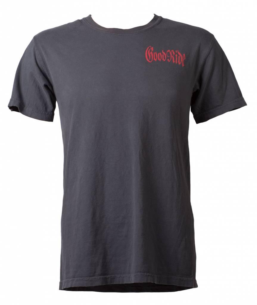 Graphite Good Ride Garage T-Shirt