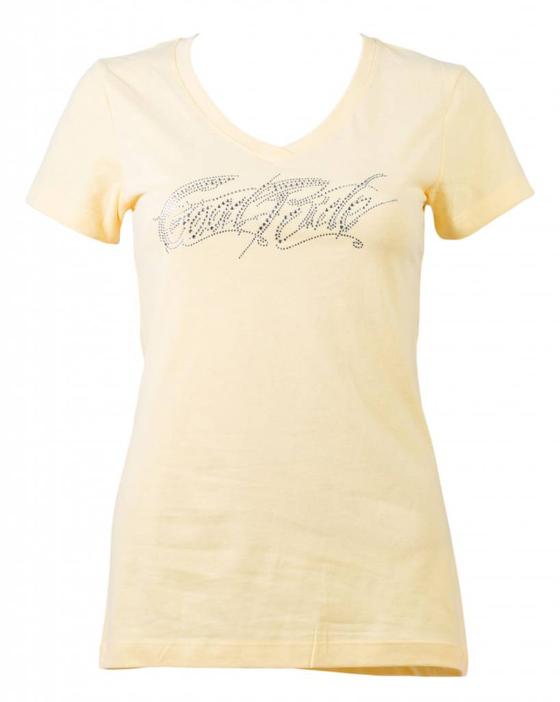 Yellow Crystal Women's T-shirt