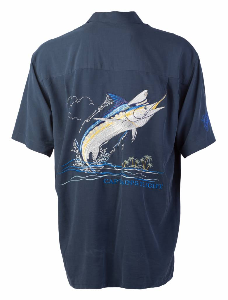 Navy Captain's Flight Resort Shirt