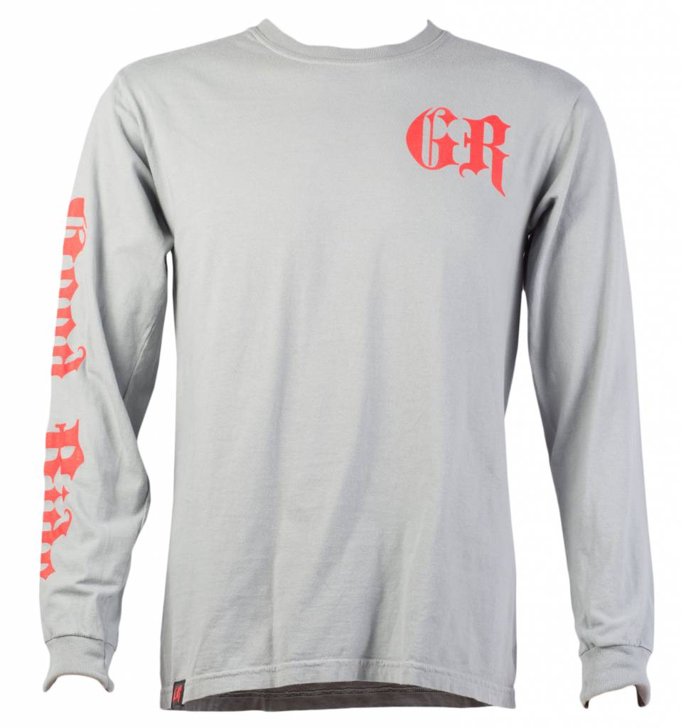 Gray Speed Shop Men's Long Sleeve T-Shirt