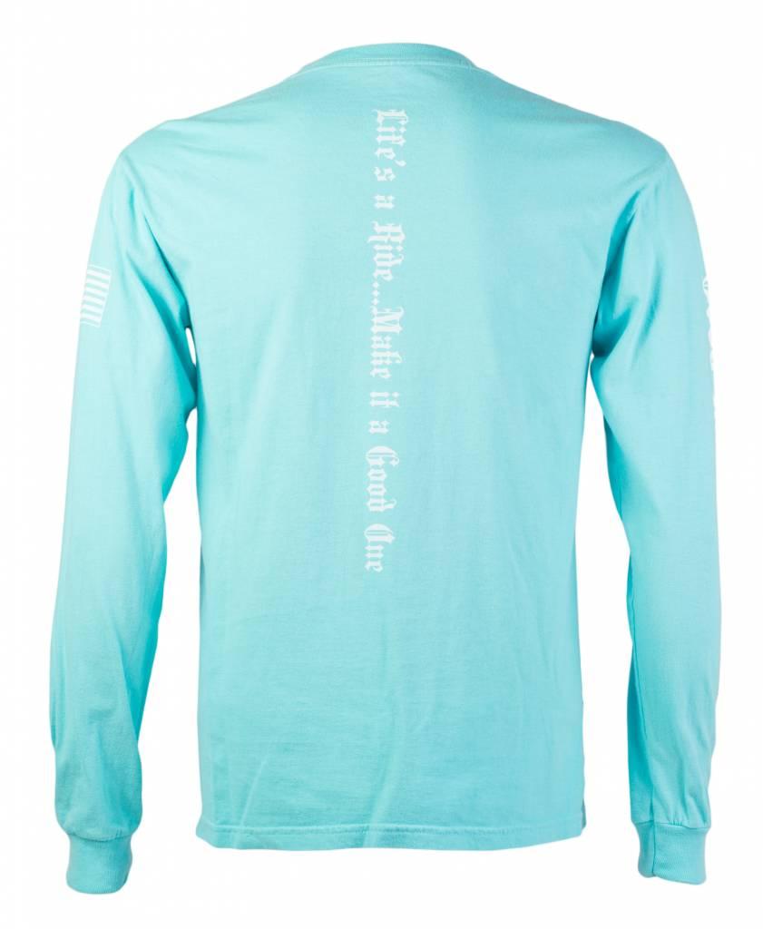 Lagoon Blue Women's Long Sleeve T- Shirt
