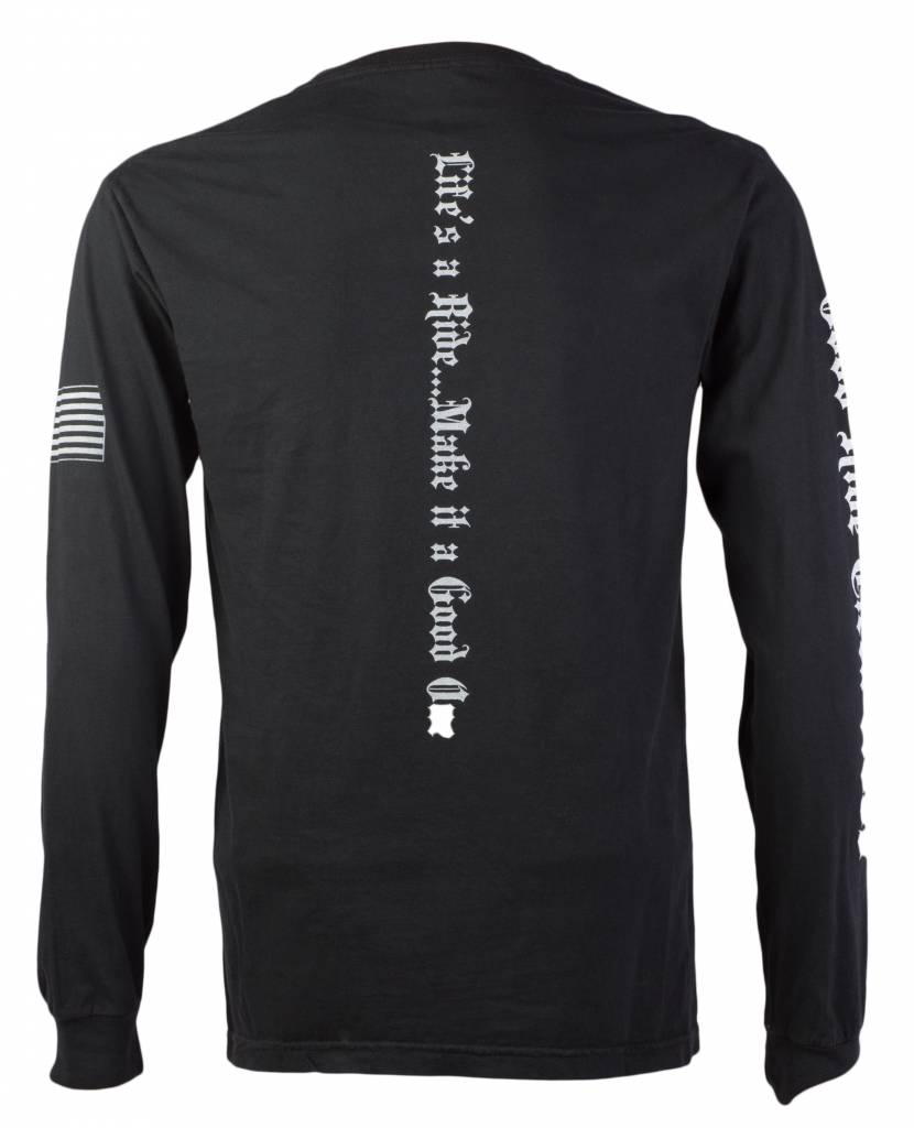 Black Men's Long Sleeve T-Shirt