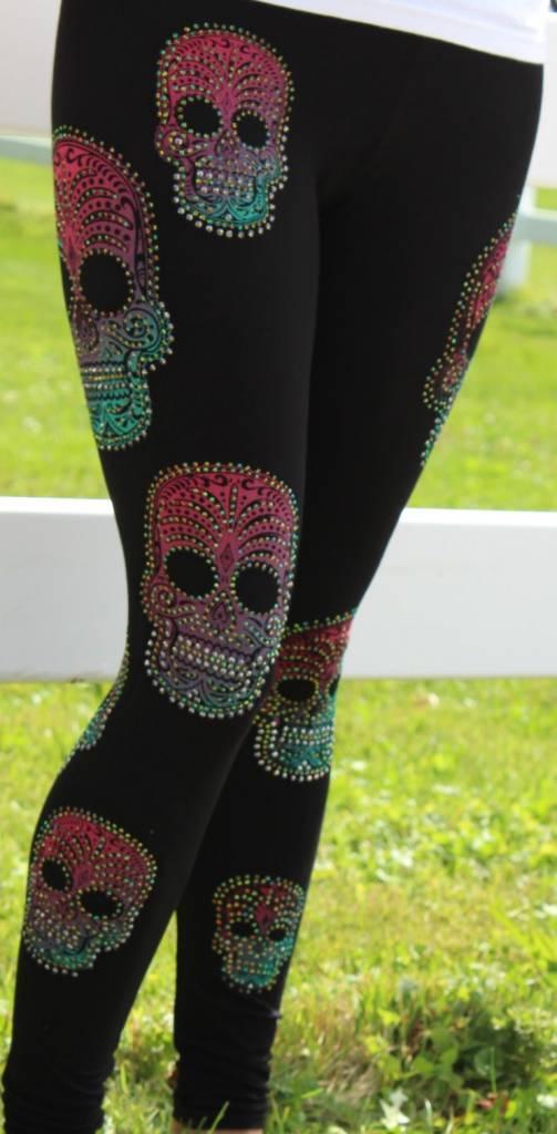 Women's Skull Legging