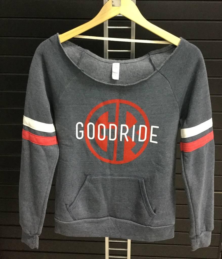 Off The Shoulder Women's Good Ride Sweatshirt