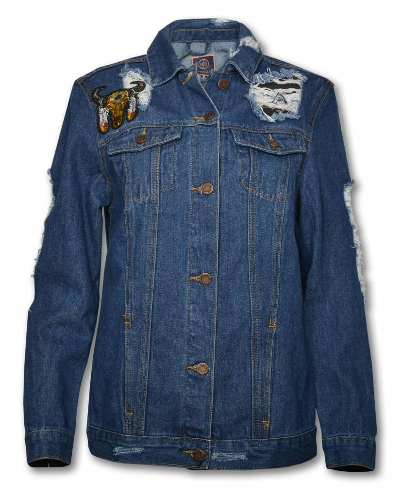 "Women's Denim Jacket "" DREAM """