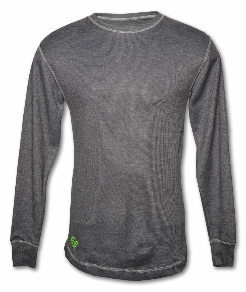 Gray Light Thermal Cotton Shirt