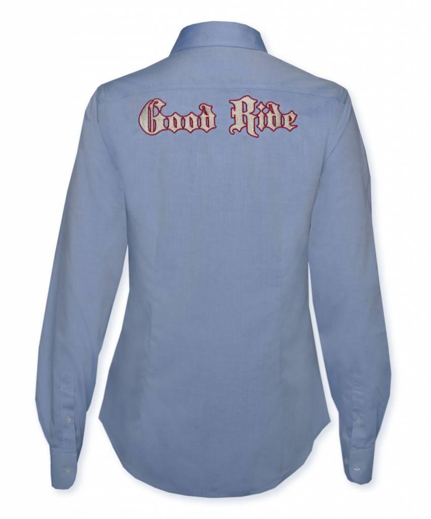 Light Blue/Pink  Show Shirt