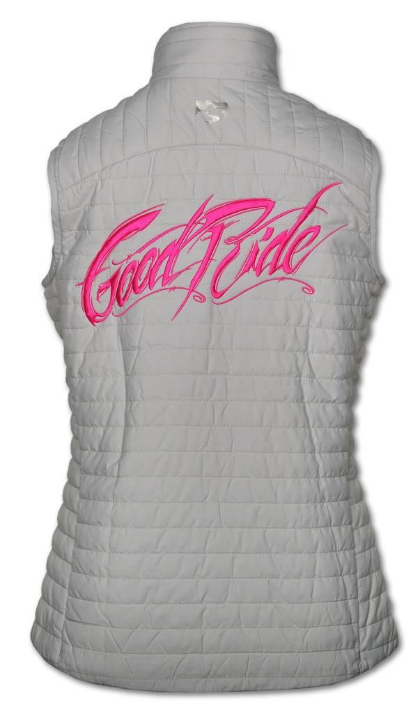 Quilted Thermolite Women's Vest in Platium