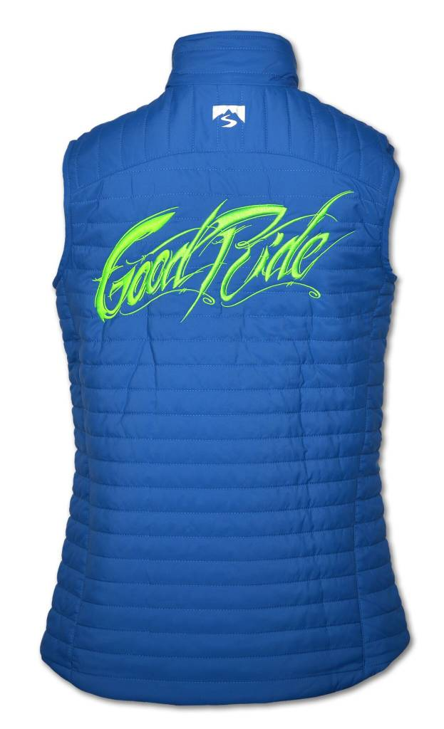 Quilted Thermolite Women's Vest in Cobalt