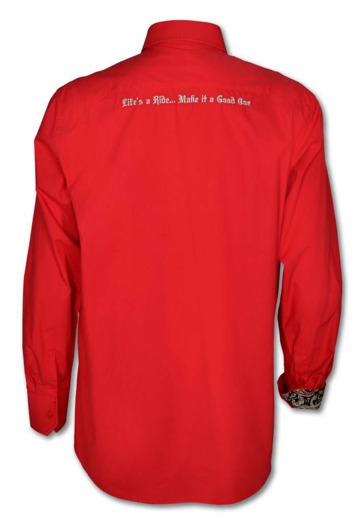 Red Men's Show Shirt