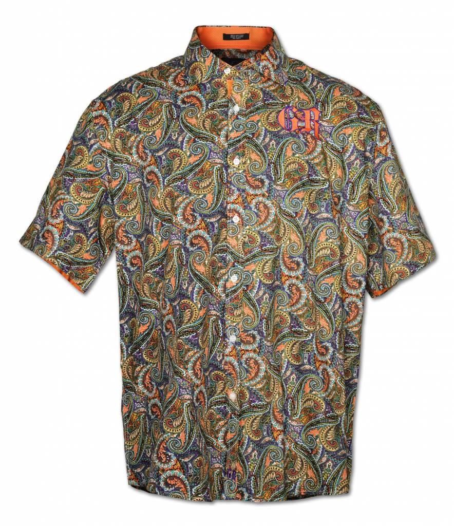 Paisley Men's Short Sleeve Shirt