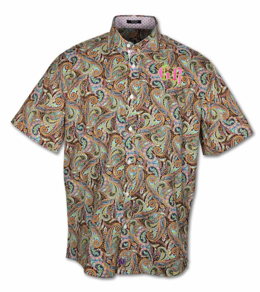 Men's Paisley / PINK Short Sleeve Shirt