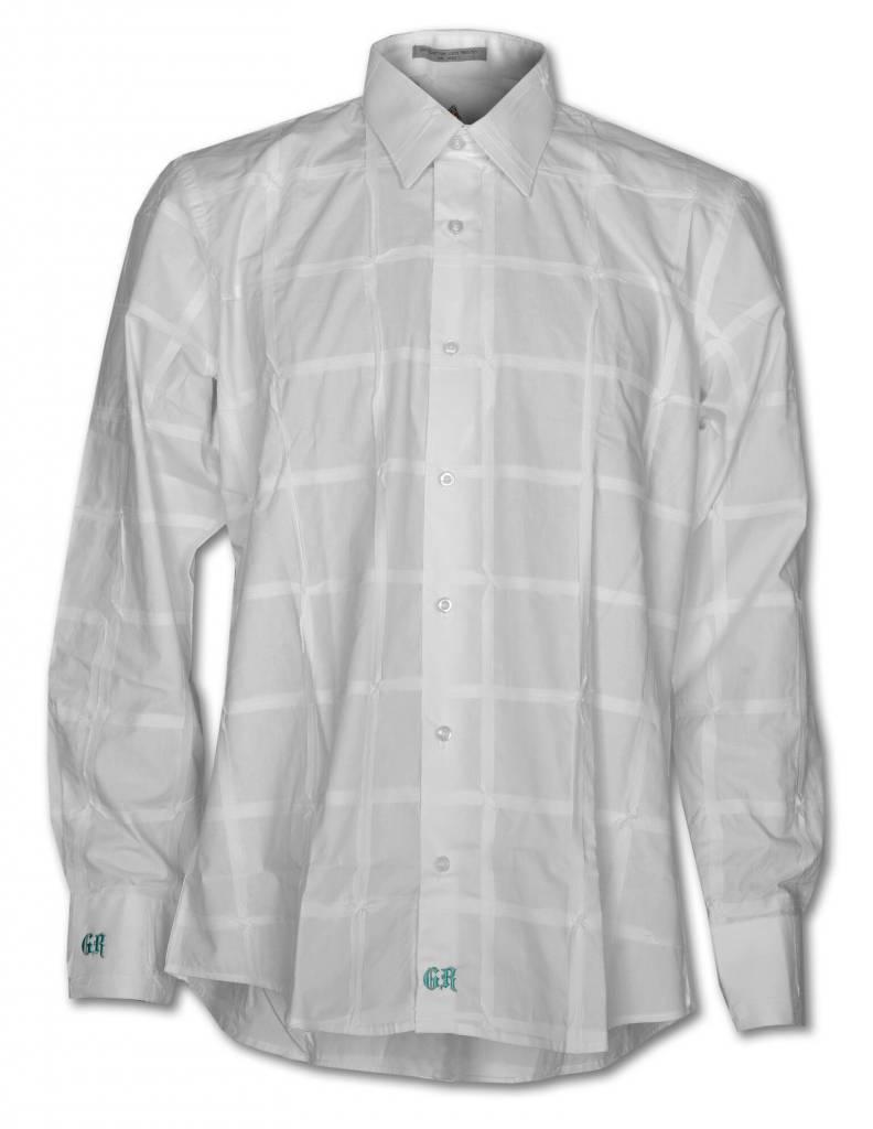 White Long Sleeve Men's Shirt