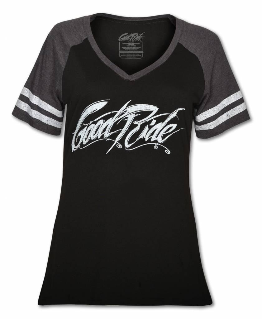 Women's Game Day  V-Neck T -Shirt