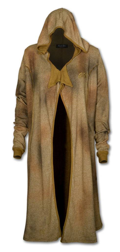 Women's Long Olive Cardigan