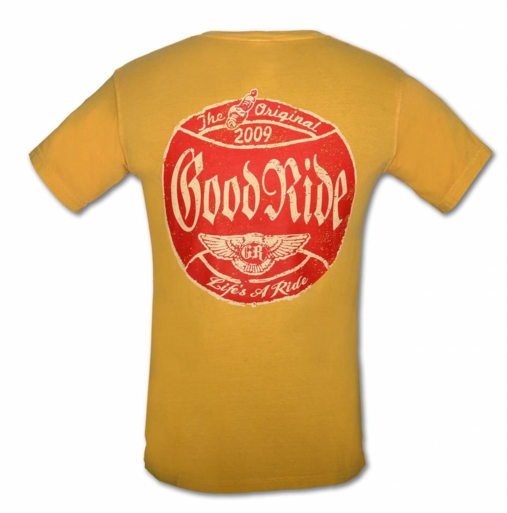 Mustard Good Ride Garage T-Shirt