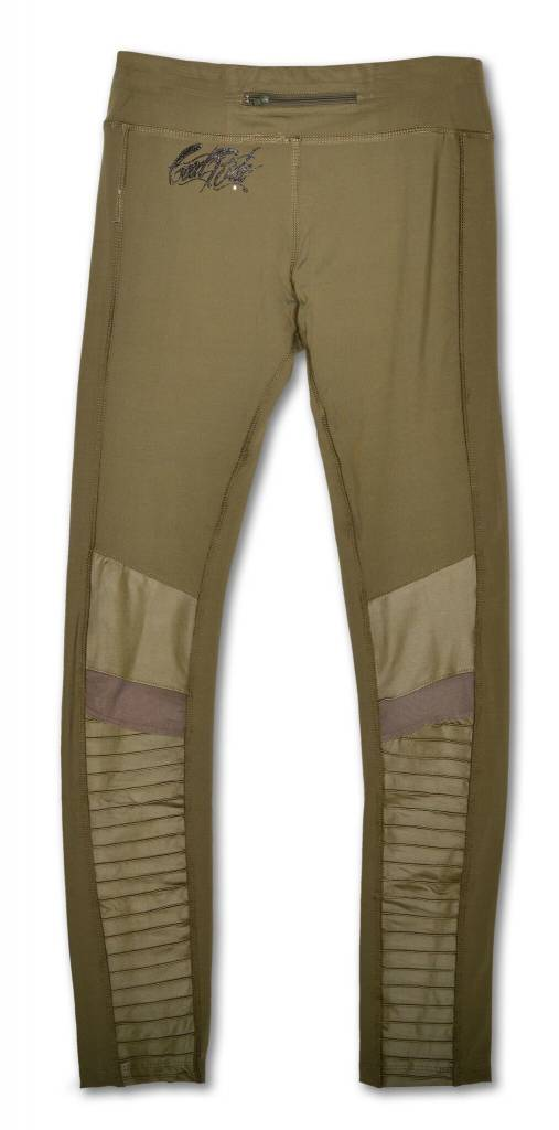 Moto Women's Legging in Sage Green