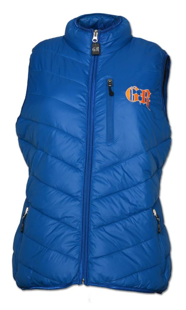 Women's PUFFY Blue/ Orange Vest