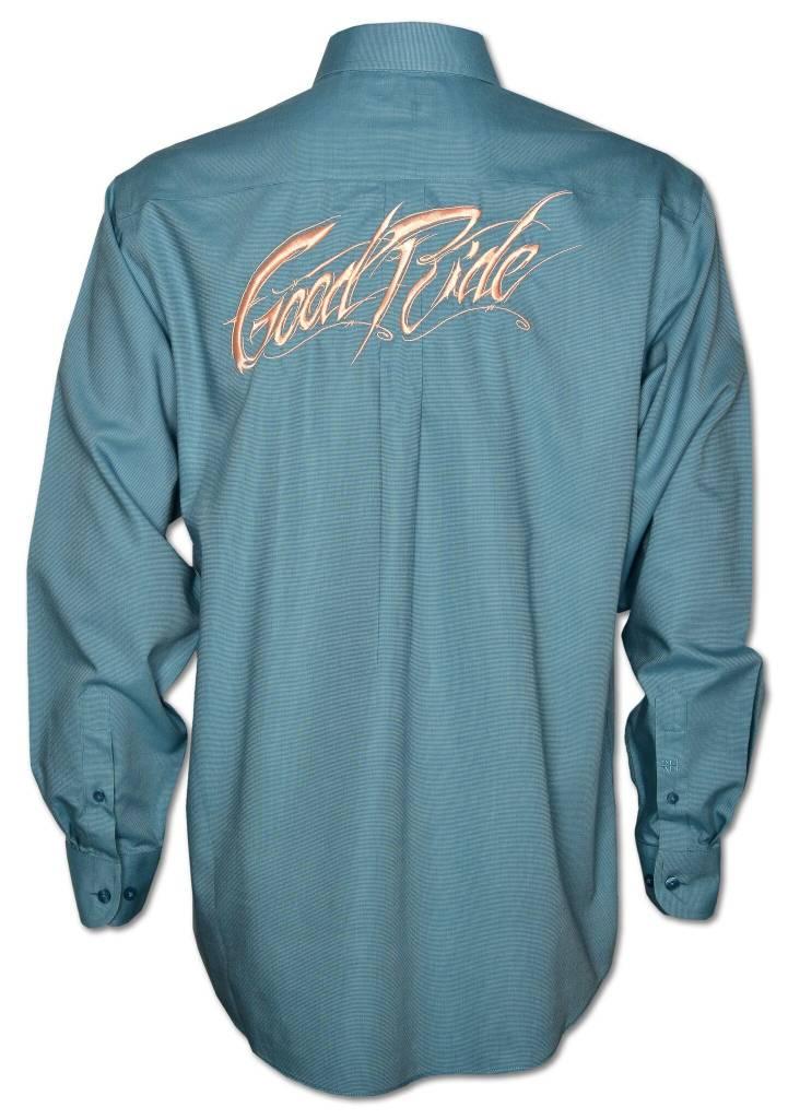 Men's Aqua / Coral Show Shirt