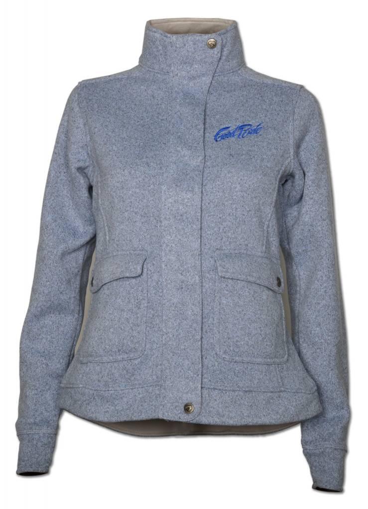 Blue Sweater Fleece Women's Jacket