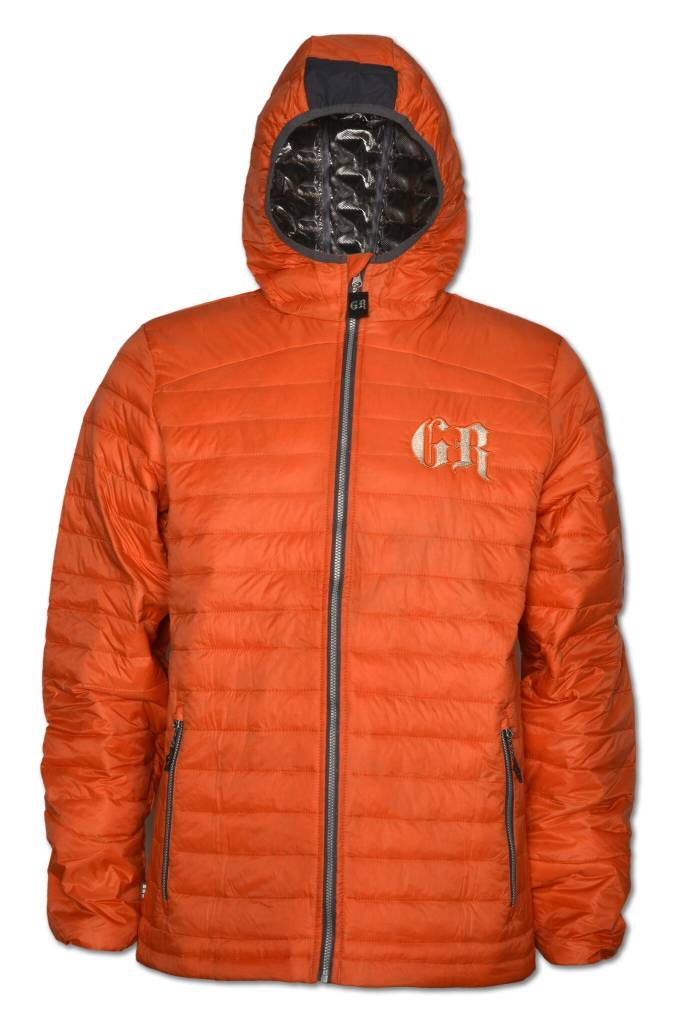 Men's PUFFY Orange Jacket