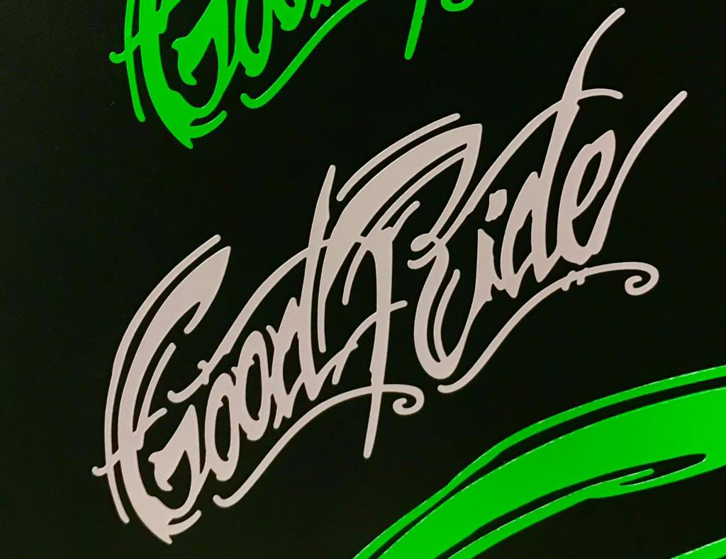 """7"""" Good Ride Sticker"""