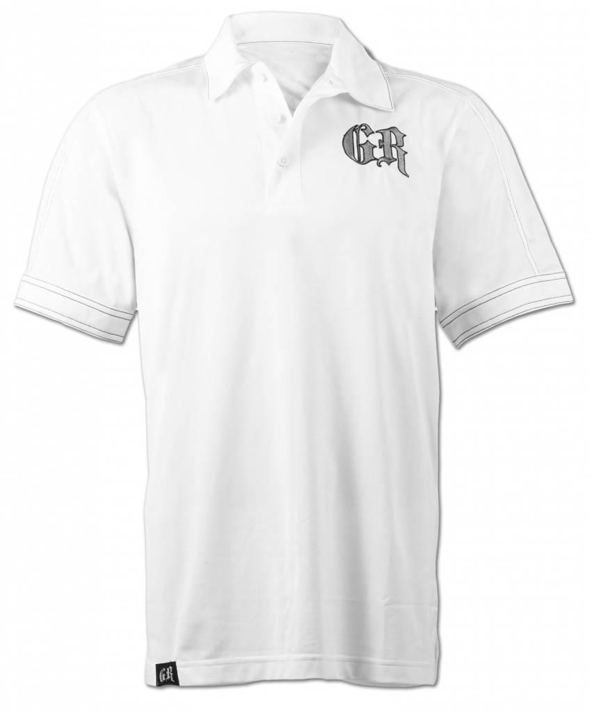 White/Gray GR Polo Shirt