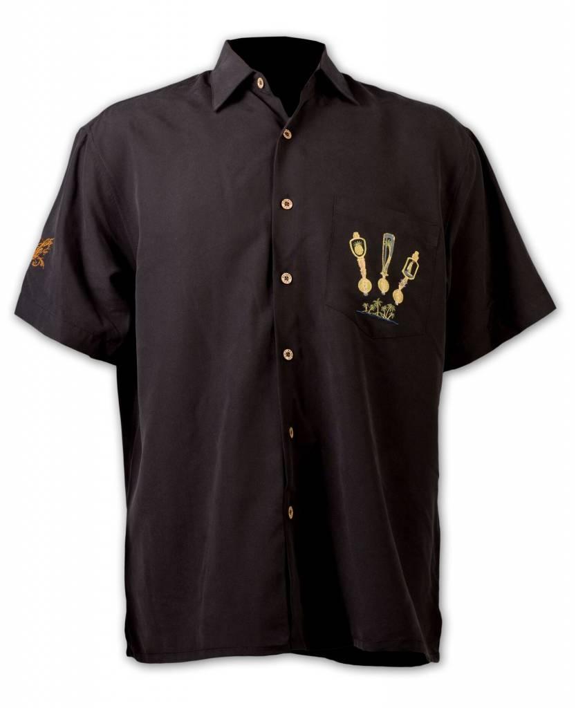 Black Island On Tap Resort Shirt