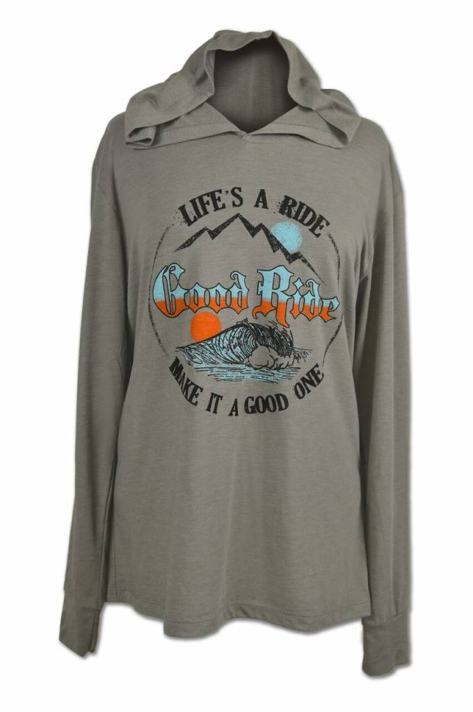 Life's A Ride Wave Hoodie