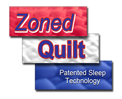 zone quilted support system logo