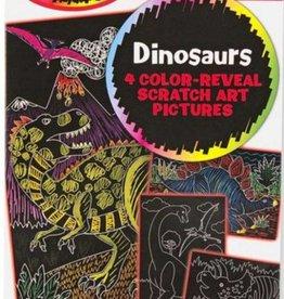 Melissa & Doug SCRATCH ART DINOSAURS