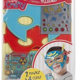 Melissa & Doug Simply Crafty-Super Hero