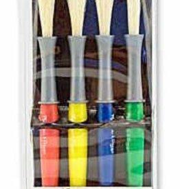 Melissa & Doug Large Paint Brushes (set of 4)